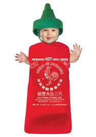 Bunting Halloween Costume Sriracha Bunting Costume