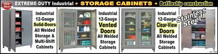 cabinet sle colors heavy duty industrial storage cabinets standard shelving