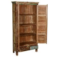 Shutter Armoire Shutter Door Reclaimed Wood Armoire Wardrobe Cabinet