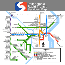 Map Of Philly Submission Unofficial Map Philadelphia Septa Transit Maps