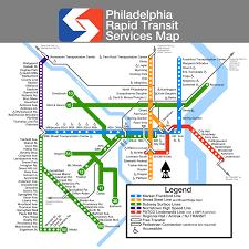 Map Of Philadelphia Airport Submission Unofficial Map Philadelphia Septa Transit Maps