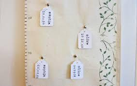 fabric height chart