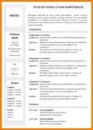comp騁ences commis de cuisine competence commis de cuisine 2 cv competence exemple modele
