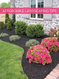 Backyard Landscape Ideas On A Budget Diy Landscaping On A Budget Landscaping Ideas On A Budget F Diy