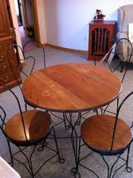 ice cream table and chairs sale very nice 1920 s ice cream parlor table and chairs set sale