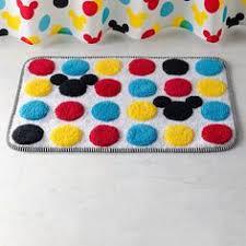 Disney Bath Rug Disney U0027s Mickey Mouse Polka Dot Bath Rug By Jumping Beans