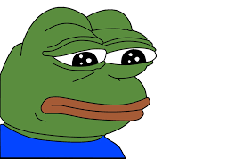 Green Man Meme - the origin of the sad frog meme