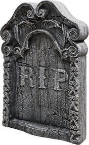 halloween headstones amazon com rest in peace tombstone toys u0026 games
