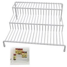 wire cabinet shelf organizer 3 tier wire cabinet shelf rack organizer storage home kitchen holder