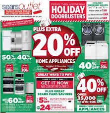 sears outlet black friday 2018 ads deals and sales
