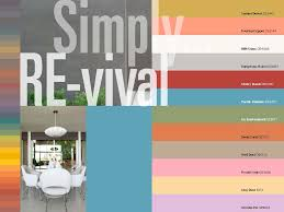 the mid century modern exterior color palette up there is used