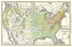 map of the united states showing states and cities map of the united states showing in six degrees the density of