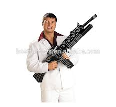 Inflatable Halloween Costume China Oem Facotry Tony Montana Inflatable Weapon Vinyl Inflatable
