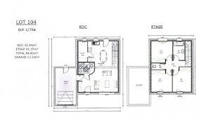 plan maison etage 3 chambres impressionnant plan de maison avec etage 3 plan et photos maison
