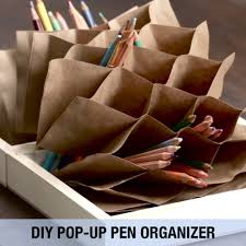 this folding pen organizer tutorial will blow your mind pen