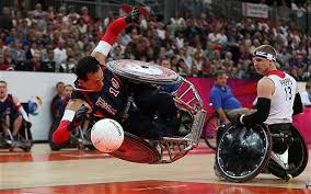 Wheelchair Rugby Chairs For Sale Paralympics 2012 Despite Great Britain U0027s Defeat The Crowd Were