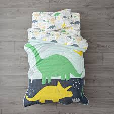 Toddler Comforter Dinosaur Toddler Bedding The Land Of Nod