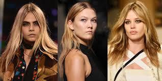 hair trend fir 2015 spring summer 2015 hair and makeup trends
