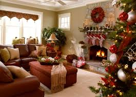 decorations pretty living room with christmas tree decorating
