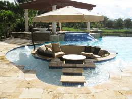 how to design a luxurious poolside area