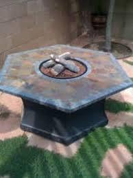 Slate Firepit Slate Pit Table Pit Grill Ideas