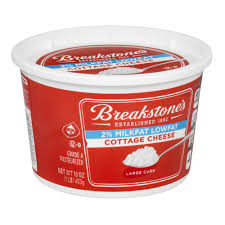 Cottage Cheese Low Fat by Breakstone U0027s 2 Milkfat Lowfat Cottage Cheese Large Curd 16 0 Oz