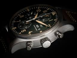 watches chronograph iwc pilots chronograph watches of switzerland 20th anniversary