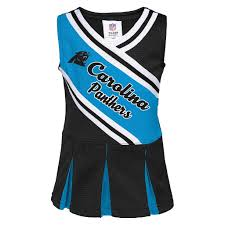 Carolina Panthers Flags Carolina Panthers Infant Toddler Cheerleader Dress Image 1 Of 1