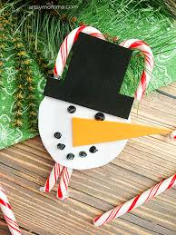 snowman ornament and holder craft artsy momma