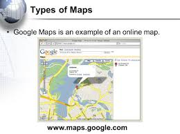 Maps Googlecom Introduction To Mapping What Is A Map A Map Is A Representation