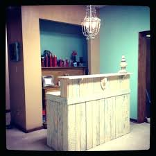 Salon Reception Desk Furniture Salon Receptionist Desks Sohoshorts Me