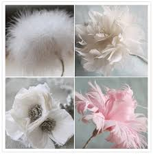 feather flower beautiful for diy s free feather flower tutorials for diy