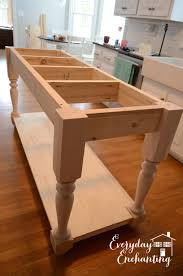 kitchen island plans white modified kitchen island from the handbuilt home island