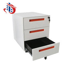 Filex File Cabinet Durable Metal Two Drawer Movable Filex File Cabinet With Wheels