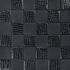 living room black leather backsplash tile high quality home skin