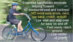 Most Comfortable Beach Cruiser Seat Comfort Bike The Day 6 U003csup U003etm U003c Sup U003e Semi Recumbent
