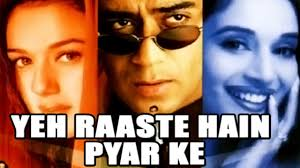Ke by Yeh Raaste Hain Pyaar Ke 2001 Full Movie Ajay Devgan Madhuri