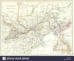 map of east canada eastern canada ontario maritime provinces nb pe ns