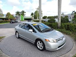2008 honda civic 2008 used honda civic sedan 4dr automatic ex w navi at royal palm