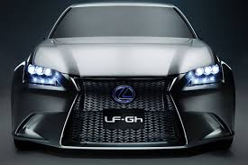 lexus hybrid sedan 2011 lexus lf gh concept hybrid sports sedan unwrapped 50 high res photos