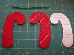 candy cane felt ornament tutorial harts fabric blog sew your