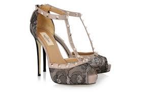 Wedding Shoes Cork Wedding Shoes 2012 Bow Embellished Valentino Pumps