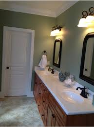 sherwin williams clary sage paint color in a bathroom 293
