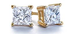 gold diamond stud earrings diamond stud earrings blue nile