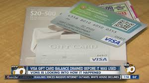 buy used gift cards local vons looking into how visa gift card was drained of value