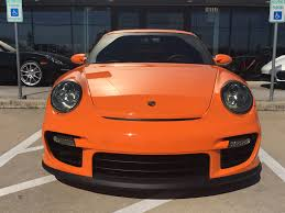 paul walker porsche model 2009 porsche 911 gt2 in pts orange for sale at 410 000