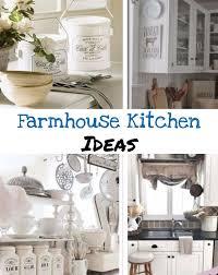farmhouse kitchen canister sets and farmhouse decor ideas