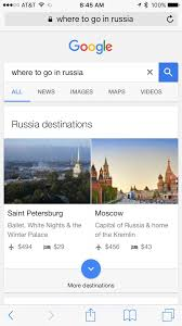 Google Russia by Google Revamps Mobile Travel Search Results Almost Making Web