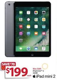 ipads black friday 2017 walmart black friday ad features 199 apple ipad mini 2 119