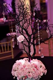 Black And Silver Centerpieces by Best 25 White Branch Centerpiece Ideas On Pinterest Willow